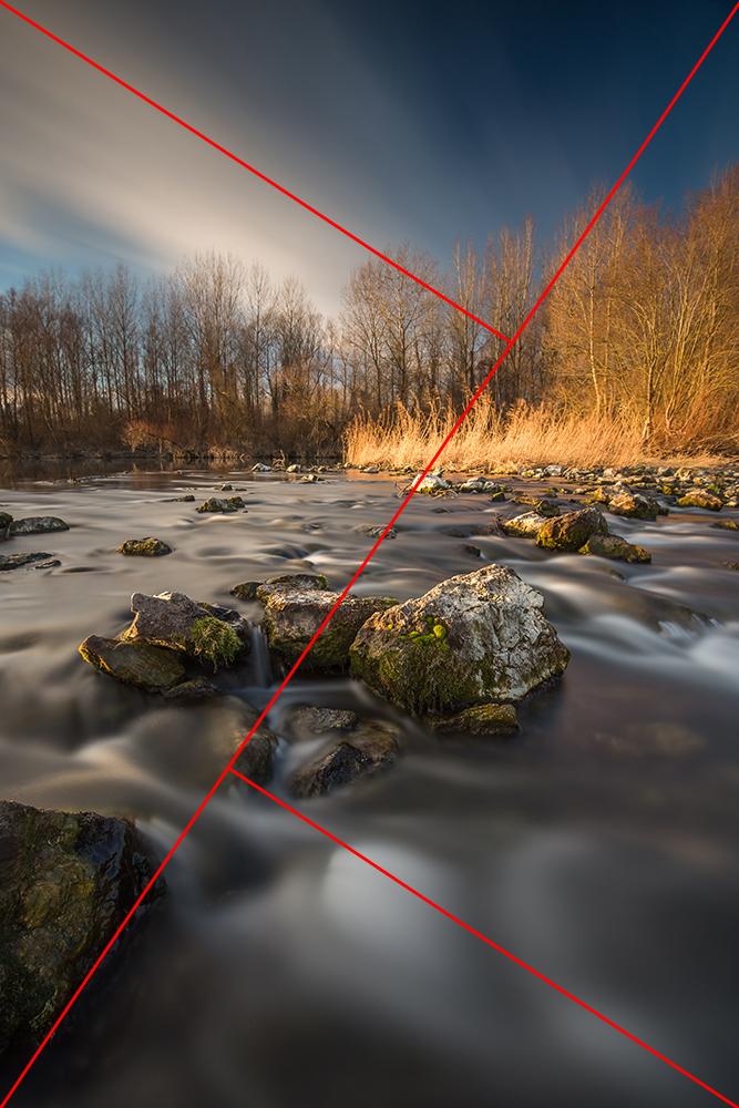 Zlatni trokuti pomažu pri građenju kompozicije i naknadnoj analizi fotografije.